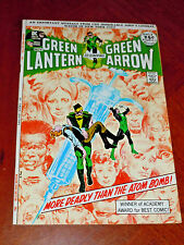 GREEN LANTERN #86 (1971) VF- (7.5) Signed by NEAL ADAMS  Classic, DRUG ISSUE