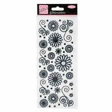 GLITTERATIONS - FLOWERS - BLACK ANT 8181023