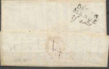 1816 Lettre Marque Linéaire DEB.46/Mende LOZERE(45) Ind 19. X2114