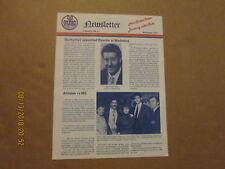 Ahl Nova Scotia Oilers Rare Defunct November 1986 Volume 3,No.2 Team Newsletter