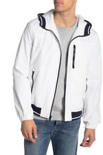 Tommy Hilfiger Boat House Hooded Bomber Jacket White Size...