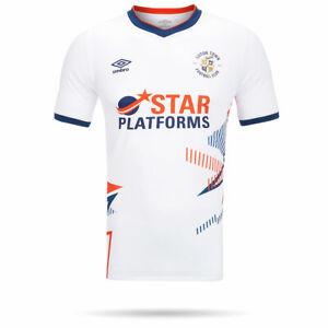 Luton Town 20/21 White Away Shirt Junior