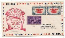CPA PK AK AVIATION  USA FIRST FLIGHT NORTHERN TRANS-ATLANTIC AIR MAIL 1939
