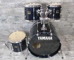Yamaha Stage Custom 22,10,12,14 Shellset Drums Schlagzeug lackiert Sapphire Blue