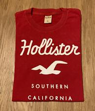 Hollister Red Men's T-Shirt (large)