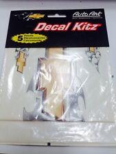 Chevy Decal Kitz 5 Piece New Chroma Auto Art