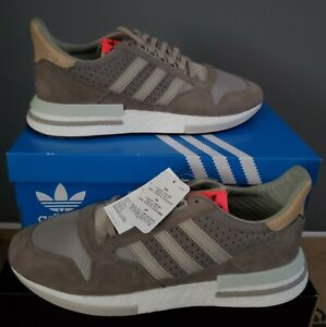 NEW AUTHENTIC ADIDAS ORIGINALS ZX 500 RM SAND BROWN US 8-14