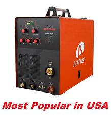 LOTOS MIG200M 4 in 1 MIG, TIG and Stick welder, Gas/Gassless invertor