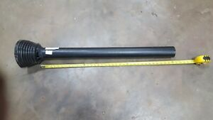 900-2548 Weasler PTO plastic safety shield -  OUTER TUBE ONLY - with 1 bearing