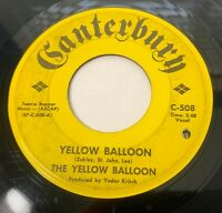 Yellow Balloon / Noollab Wolley 45 Psych Rock Record Canterbury 508