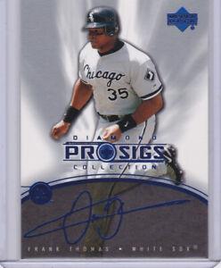 FRANK THOMAS Chicago White Sox AUTO SIGS Upper Deck Baseball Card MLB HOFer