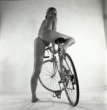 NU NUDE PHOTO FOTO 20x20CM REPRINT FROM ORIGINAL 1960's vintage neg 17