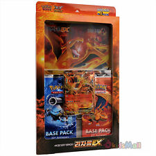 Pokemon TCG XY Evolutions Mega Size Charizard EX Special Jumbo Card Set Korean