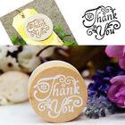 DIY Floral Flower Pattern Round Wooden Rubber Stamp Scrapbook Letter Stamp Sale