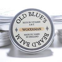 Old Blues Beard Balm  Woodsman 100% Natural with Vitamin E 30ml Beard Oil