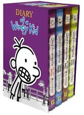 Diary of a Wimpy Kid Series by Jeff Kinney BOXED SET Hardcover Books 5-8