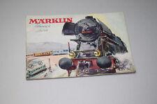 Märklin Modellbahn – Eisenbahn – Katalog 1954 Spur H0