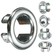 2PCS Useful Bathroom Overflow Covers for Basin Sink-Chrome Trim Replacement