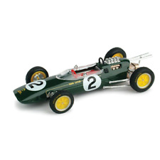 LOTUS 25 T.TAYLOR 1963 N.2 BELGIUM GP 1:43 Brumm Formula 1 Die Cast Modellino