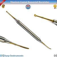 Beavertail Burnisher Composite Filling Restorative Titanium Coated Instruments
