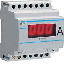 HAGER LIGHT SM401 AMMETER DIGITAL INDIRECT 0-400A 4 MODULES