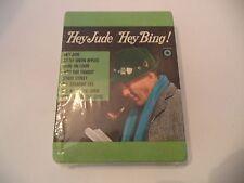 Bing Crosby ~ Hey Jude/Hey Bing- new/sealed 8 Track tape   HTF