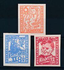 Ungeprüfte Briefmarken aus Deutschland (ab 1945) als Satz mit Falz