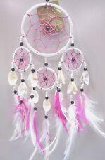 Stunning Dream Catcher 40 cm Length 2 tone 9 cm Web with shells & Coconut Beads
