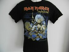 "*NEW* IRON MAIDEN RARE LIVE AFTER DEATH OFFICIAL T SHIRT BLACK MENS S 38"" CHEST"