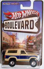 2012 HOT WHEELS BOULEVARD '85 FORD BRONCO 4X4