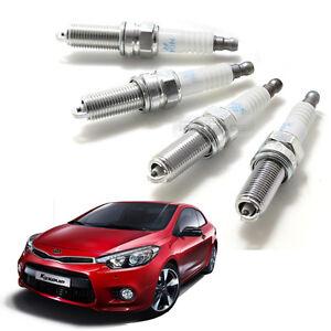 OEM Parts Engine Ignition Spark Plug 18846-08060 4P for KIA 2014-2018 Forte Koup