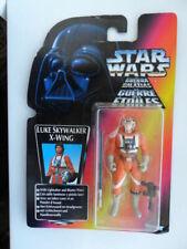 Luke Skywalker X-wing Figure Long Lightsaber Star Wars POTF MOC Kenner 1995