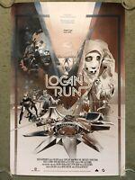 Logan's Run Michael York Farrah Fawcett Movie Print Poster Mondo Martin Ansin