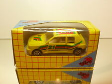 FREE&EASY PEUGEOT 205 TURBO #21 - YELLOW -  GOOD CONDITION IN BOX
