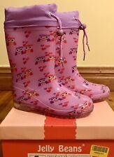 Jelly Beans  Pink Owl Rain Boot, Size 13/EU 32