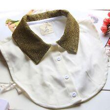 Hot  Fashion Detachable Women Half Shirt False Fake Collar Neck Choker Necklace