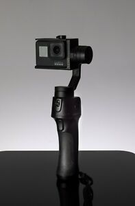 GoPro HERO7 Black Combo with FreeVision Gimbal and extra battery and rubber case