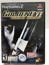 GoldenEye: Rogue Agent (Sony PlayStation 2, 2004) Complete with Manual