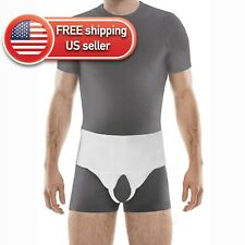 Inguinal Groin Hernia Truss Double Support Belt for Men and Women - All Sizes