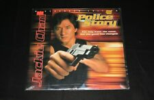 JACKIE CHAN POLICE STORY LaserDisc WIDESCREEN EDITION Open Copy LIKE NEW Cond