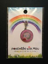 Pokemon With You Keyring From The Pokemon Center Japan - Mew