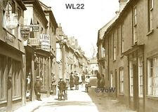 North Norfolk Postcard - Wells next the Sea - High Street - Circa 1922 - WL22.