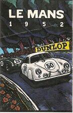 356 PORSCHE ILLUSTRATION *LE MANS 1952 #50 COUPE*  WILLIAM BURROWS ILLUSTRATOR