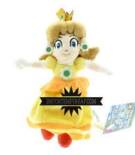 SUPER MARIO BROS. PRINCIPESSA DAISY PELUCHE plush princess land wii u kart peach