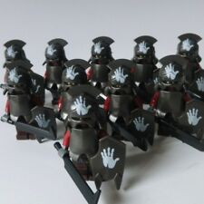 Lord of the Rings URUK-HAI ARMY Minifigure Figures Helmet Sword Orc