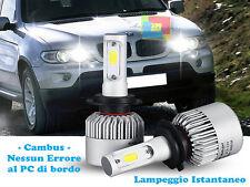 LAMPADE ABBAGLIANTI LED BMW X5 E53 2000-2007 ISTANTANEO CREE