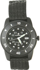 S&W Knives Commando Watch Black Face Luminous Markers Black Stainless NM