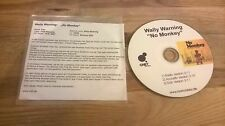 CD Reggae Wally Warning - No Monkey (3 Song) MCD CHET REC Presskit