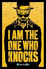 BREAKING BAD I AM THE ONE WHO KNOCKS Art Silk Poster 12x18 24x36
