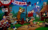 Yogi Bear Hanna Barbera Signed Cel Yogi For Ranger Rare Pre Production Cell